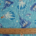 Kinkade Disney Cinderella on Blue all over