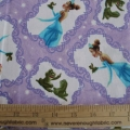 Disney Kinkade Princess and the Frog  Lavender all over